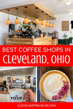 Your guide to where to find the best independent local coffee shops in Cleveland, Ohio. #coffee #cleveland Best Iced Coffee, Best Coffee Shop, Great Coffee, Coffee Shops, Cleveland Food, Cleveland Restaurants, Cleveland Rocks, Beautiful Places To Travel, Cool Places To Visit