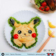 Itadakimasuuuu!  . . . #itadakimasu #pikachu #pokemon #bento #kawaii #foodporn #pasta #spaguetti #Adorable #Kawaii #Sweet #Cute #Pastel #Pastelgoth #grunge #pastelgrunge #Scene #Alternative #Anime #Manga #Otaku #Gamer #Nerdy #Nerd #Comic #Geek #Geeky