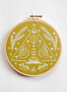 FOLK HOLIDAY … a cozyblue holiday embroidery kit folk holiday is brand new for 2017 with a classic and modern feel inspired by traditional scandinavian design. It fits in with all styles of holiday décor, and will look at home wherever it goes. +++++++ the pattern design is pre-printed on