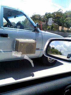 Why not cut a hole in the side of your pick-up truck