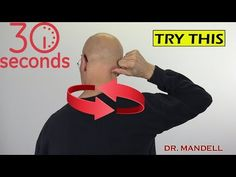 Such a pain in the neck! Fix Upper Neck Pain, Muscle Knots & Trigger Points in 30 Seconds - Dr Alan Muscle Spasms In Neck, Knots In Neck Muscle, Neck Spasms, Neck And Shoulder Exercises, Neck Exercises, Neck And Shoulder Pain, Rhomboid Exercises, Neck Stretches, Stretching Exercises