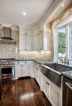Modern Kitchen Cabinets - CLICK THE PIC for Various Kitchen Ideas. #cabinets #kitchens