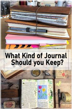 What Kind of Journal Should You Keep? Types Of Bullet Journals, Bullet Journal Ideas Pages, Bullet Journal Inspiration, Journal Pages, Junk Journal, Scrapbook Journal, Journal Layout, Journal Notebook, Citation Photo Insta