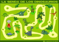 Escuela infantil castillo de Blanca: LA SENDA DE LOS DINOSAURIOS