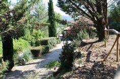 Chemin privatif de la Villa L'occitane (34700 - Poujols). ☼ #villaloccitane #Poujols #vacances