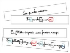Nouvel atelier : l'accord dans la phrase New workshop: the agreement in the sentence French Teacher, Teaching French, French Flashcards, French Grammar, French Classroom, Montessori Activities, Homeschool Curriculum, Learn French, Teaching Tools