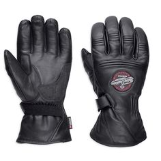 Motorcycle Perforated Leather Mesh Gloves Men/'s Harley Touch Screen Fingertip L