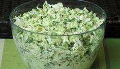 Surówka krymska Appetizer Salads, Appetizers, Bruschetta, Polish Recipes, Tzatziki, Side Salad, Coleslaw, Kraut, Salad Dressing