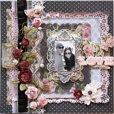 love - Scrapbook.com-love those beautiful layers and flowers!