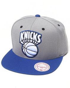 low priced 69f03 9dc38 Mitchell   Ness   New York Knicks Nba Grey 2tone Arch Undervisor Print With  Velcro Closure