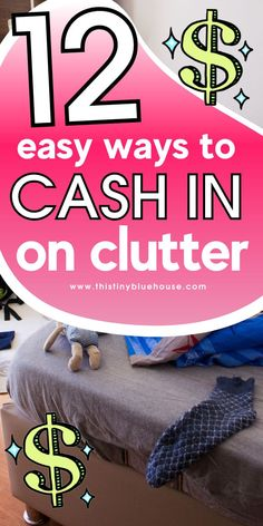 Make some extra money by cashing in on your clutter. These 12 types of clutter can help you make extra money while delcuttering your home. Make Money Fast, Ways To Save Money, Make Money From Home, Make Money Online, Grocery Savings Tips, Legit Online Jobs, Money Saving Mom, Making Extra Cash, Frugal Living Tips