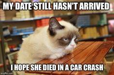 Grumpy Cat Table