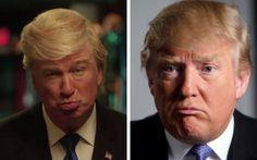 Alec Baldwin and Donald Trump