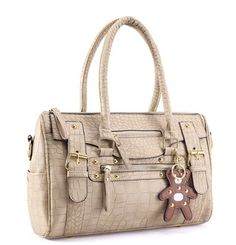 THG New Vintage Celebrity Alligator High Quality Apricot PU Leather Hobo Tote Shoulder Shopper Bag Women Lady Handbag With Bear Medallion, http://www.amazon.com/dp/B00F5Q8PLU/ref=cm_sw_r_pi_awdm_o82Dtb160GG1K