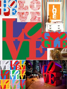 """Robert Indiana's """"Love"""" continues to inspire fashion, advertising and design"""