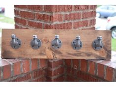 5 Hook Industrial Wall Storage
