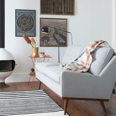 An elevated take on playing the angles, the Studio Floor Lamp is a Schoolhouse spin on a classic mid-century modern design. Form and function collide in this utilitarian floor lamp featuring adjustable swivels that allow the light to be raised, lowered and angled exactly where it's needed in the room. Handcrafted from sturdy steel, the refined silhouette of the rounded shade and intersecting rods illuminates a room even when unlit. Every detail has been meticulously considered, from the…