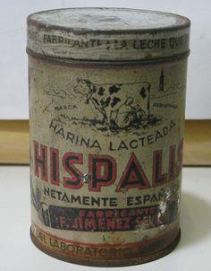HARINA LACTEADA HISPALIS AÑO 1930 - España. 2,50 ptas