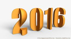 7 Happy New Year 2016 HD Wallpapers ~ Remarkable Designs