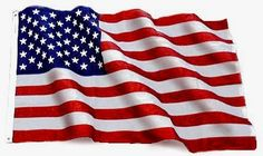 Nylon Glow Embroidered American Flag Made in the USA