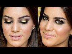 ▶ Bronzed Look By Camila Coelho - YouTube
