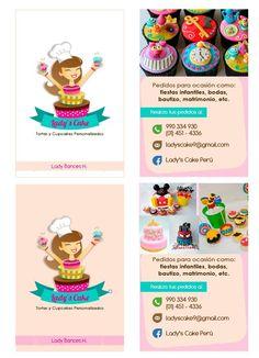 Echa un vistazo a este proyecto @Behance: \u201cLady's Cake - pastelería - tarjetas\u201d https://www.behance.net/gallery/51806601/Ladys-Cake-pasteleria-tarjetas