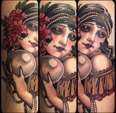 Neo Traditional art of Alix Ge