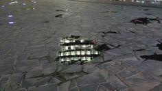 Riflessi di Unicredit Tower in Piazza Gae Aulenti