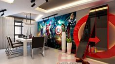 Check Out This Radical AVENGERS-THEMED House — GeekTyrant
