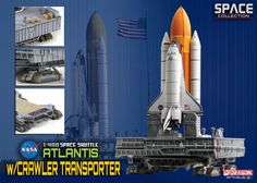Another great miniature from Dragon - Space Shuttle Atlantis w/ Crawler Transport 1:400 from Dragon Models