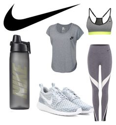 """""""Esmirie sport 2"""" by lisamarieweideman on Polyvore featuring NIKE, women's clothing, women, female, woman, misses and juniors"""