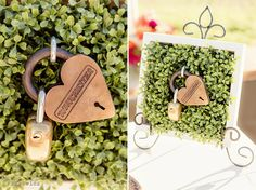 Heart Locks http://figlewiczphotography.com/catalina-view-gardens-wedding-tracy-dustin-part-2/ #figlewiczphotography