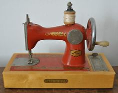 Russian Vintage Collectable Toy Sewing Machine