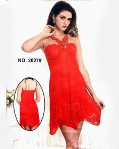 0e1c0fbcb9 Butterfly Red Sexy Short Nighty For Women Online Shop In Pakistan. Buy  Ladies Nighty Online