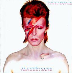 David Bowie Pink Makeup Inspiration