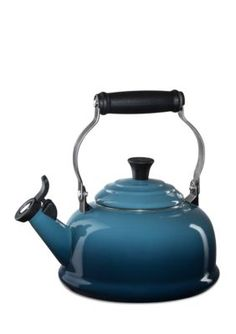 Le Creuset  Classic Whistling Tea Kettle - Marine Blue - One Size