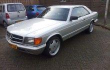 Mercedes-Benz W126 500 sec 1984
