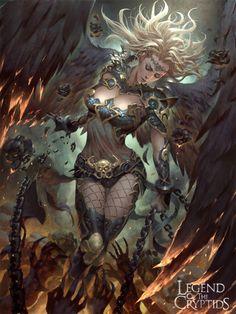 images for anime fantasy art Dark Fantasy Art, Anime Fantasy, Fantasy Girl, Fantasy Artwork, Fantasy Art Women, Beautiful Fantasy Art, Fantasy Kunst, Fantasy Warrior, Art And Illustration