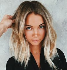 20 Cute and Easy Blonde Balayage Hairstyles – My hair and beauty My Hairstyle, Pretty Hairstyles, Hairstyles For Short Hair Easy, Beach Hairstyles, Hairstyles Haircuts, Hair Day, New Hair, Medium Hair Styles, Short Hair Styles