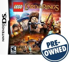 Lego The Lord of the Rings — PRE-Owned - Nintendo DS