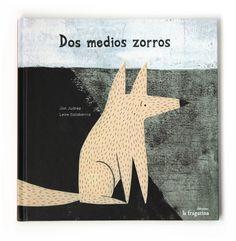 Dos medios zorros by Leire Salaberria, via Behance