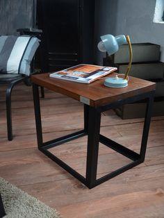bureau professionnel moderne en bois et m tal r alis e sur mesure et sa table gigogne ils. Black Bedroom Furniture Sets. Home Design Ideas