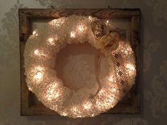 Paperinaru Burlap Wreath, Wreaths, Crafty, Frame, Manual, Diy, Furniture, Home Decor, Picture Frame