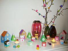Paper Toys.  Village calendrier de l'avent 2011!