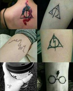 beautiful, harry potter, hogwarts, tatoos, the boy who lived