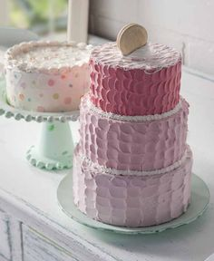 Learn how to DIY Decoupage - Decoden Layer Cake #plaidcrafts