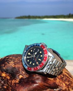 """Rolex GMT 1675 PCG underline Gilt Dial -1964-…"""