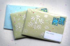 snow envelopes
