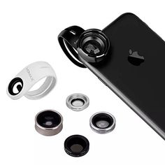 MOMAX 5 in 1 Superior Lens,Telephoto & Wide-angle & Marco & Fisheye & CPL(Mix Color). Strong and compatible: Built with high-clarity glass cell phone lenses are like pro lenses, will giving you clear shots every time. Lend it to your friends because it fits for iPhones 6s 6,iPhone 6s 6 Plus, iPhone 5S, iPhone 5, iPhone 4S, iPhone 4, iPad, Samsung, HTC, Blackberry, Motorola. Even use it on your laptop, MacBook etc. No need to remove your case, it clips on top of it and works just fine....