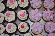 Valentine's Day Theme Cupcakes :)